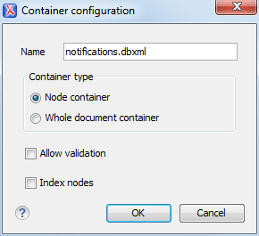Berkeley DB XML Contextual Menu Actions - Oxygen 18 1
