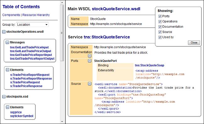 Generating WSDL Documentation in HTML Format - Oxygen 18 1